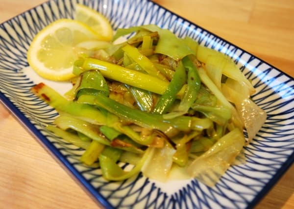 Lemon Braised Leeks Recipe