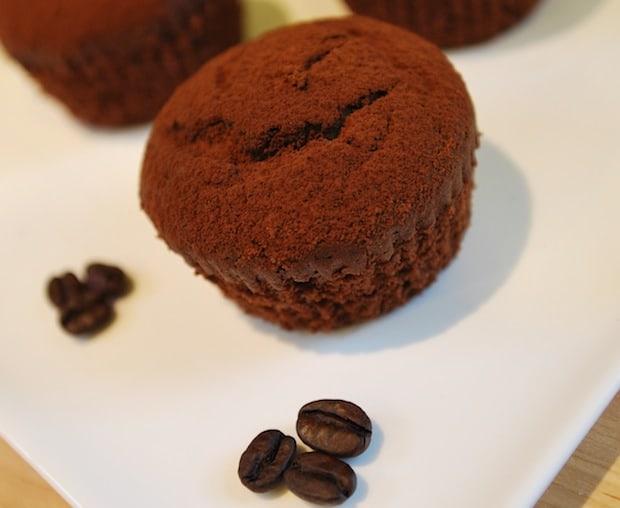 No Fuss Double Chocolate Cupcakes