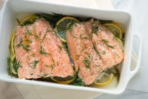 Perfectly Baked Salmon Recipe with Lemon and Dill