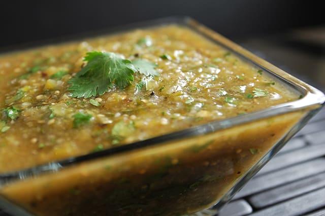 Roasted Salsa Verde Recipe