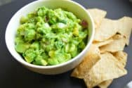 Easy, Five Minute Guacamole Recipe
