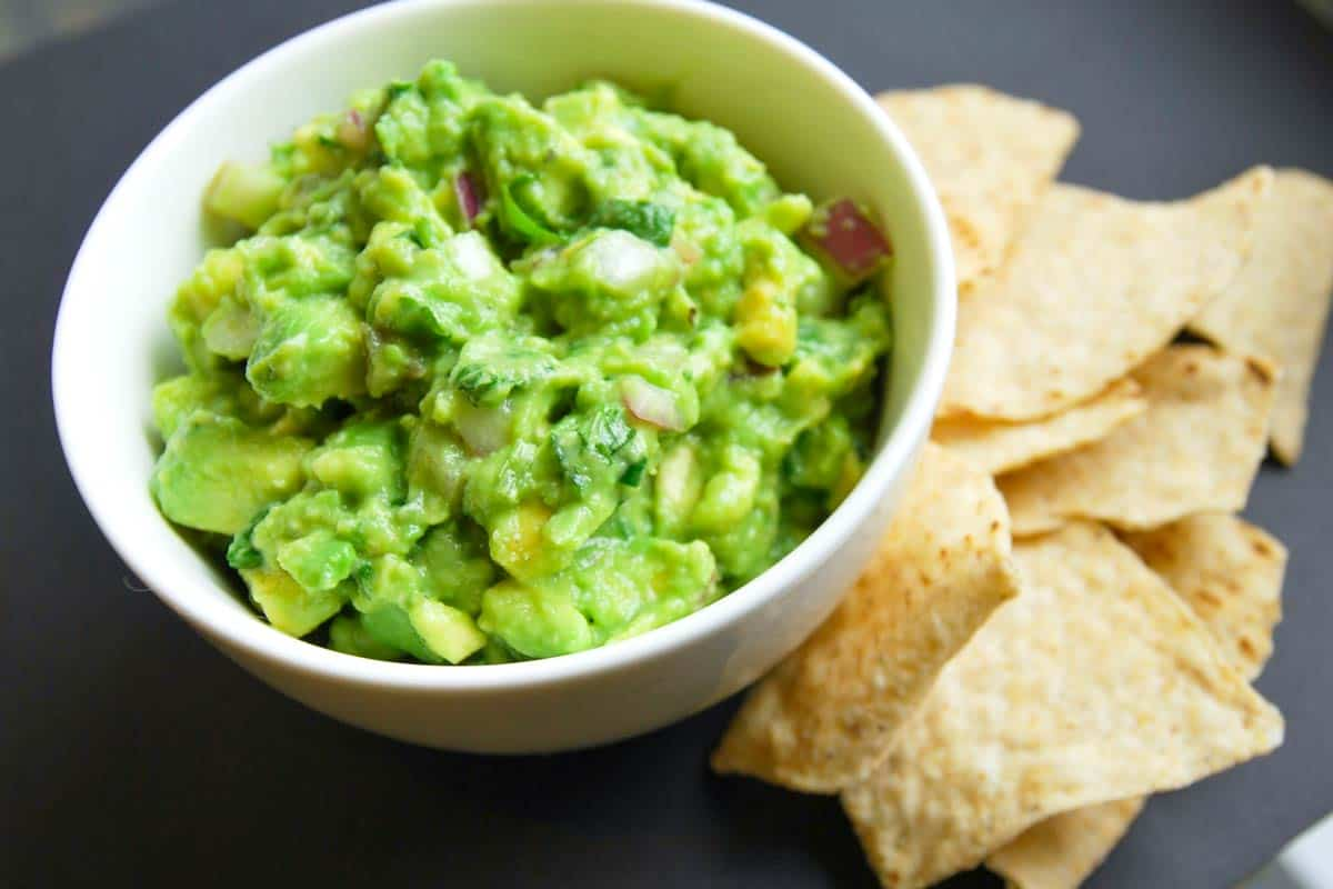 Easy Five Minute Guacamole Recipe