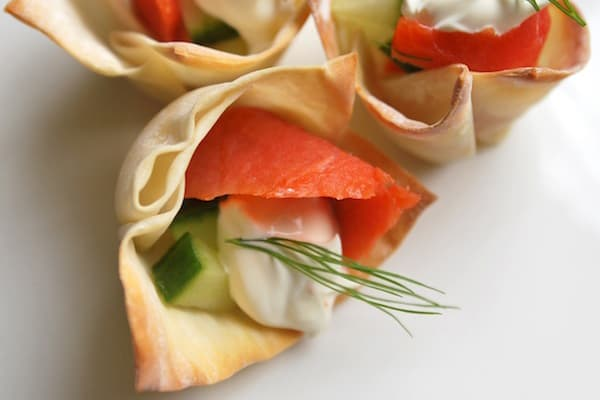 Party Appetizers - How to Make Baked Wonton Cups