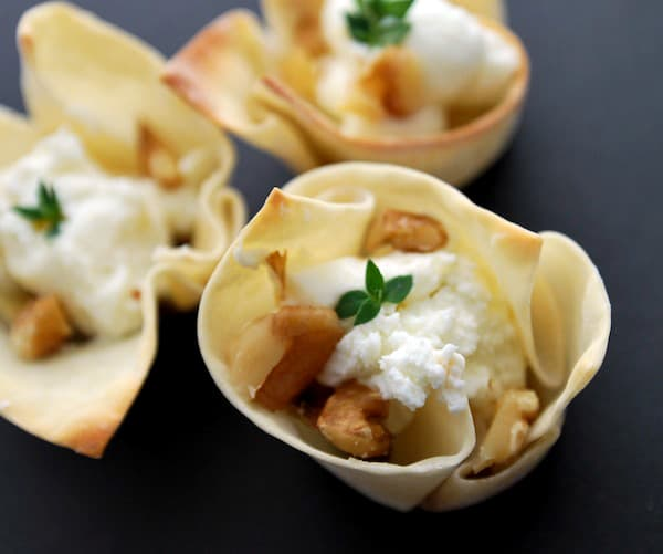Appetizers - How to Make Baked Wonton Cups