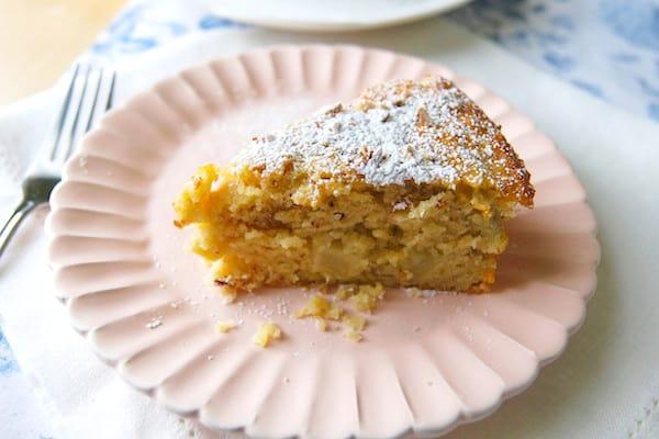 Apple Almond Coffee Cake Recipe