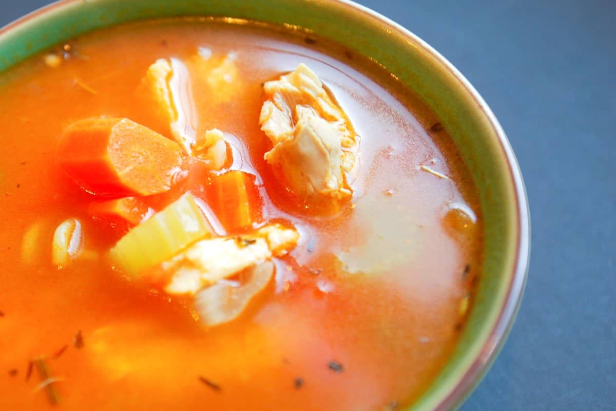 How to Make the Best Leftover Chicken Soup