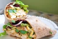 Ultimate Curried Chicken Salad Wraps