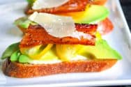 Bacon, Tomato and Avocado Sandwiches
