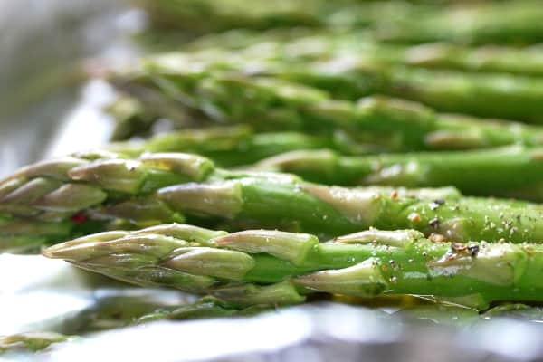 Tender Roasted Asparagus Recipe