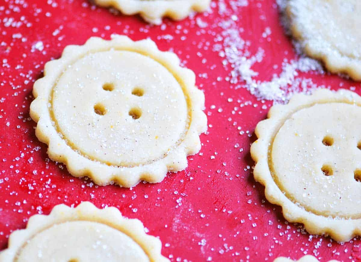 Turn them into button cookies