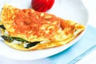 Asparagus and Goat Cheese Omelet Recipe