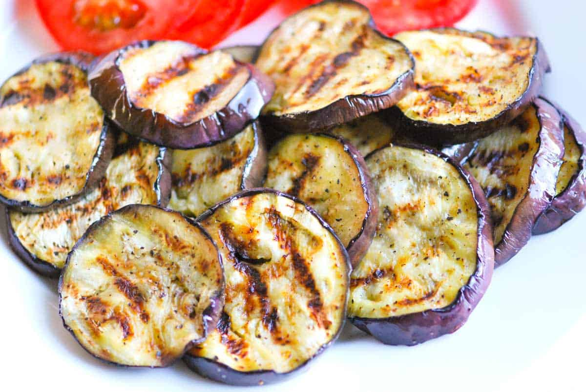 ... tomatoes. You could sneak in a few slices of grilled summer squash