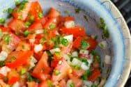 Homemade Pico De Gallo Recipe (Fresh Tomato Salsa)