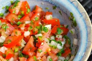 Homemade Pico De Gallo Tomato Salsa Recipe