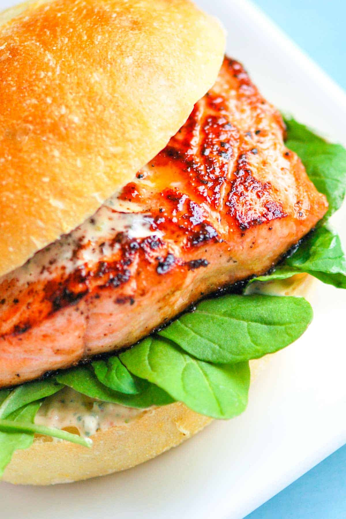 How to Make Salmon Burgers with Homemade Chipotle Mayonnaise