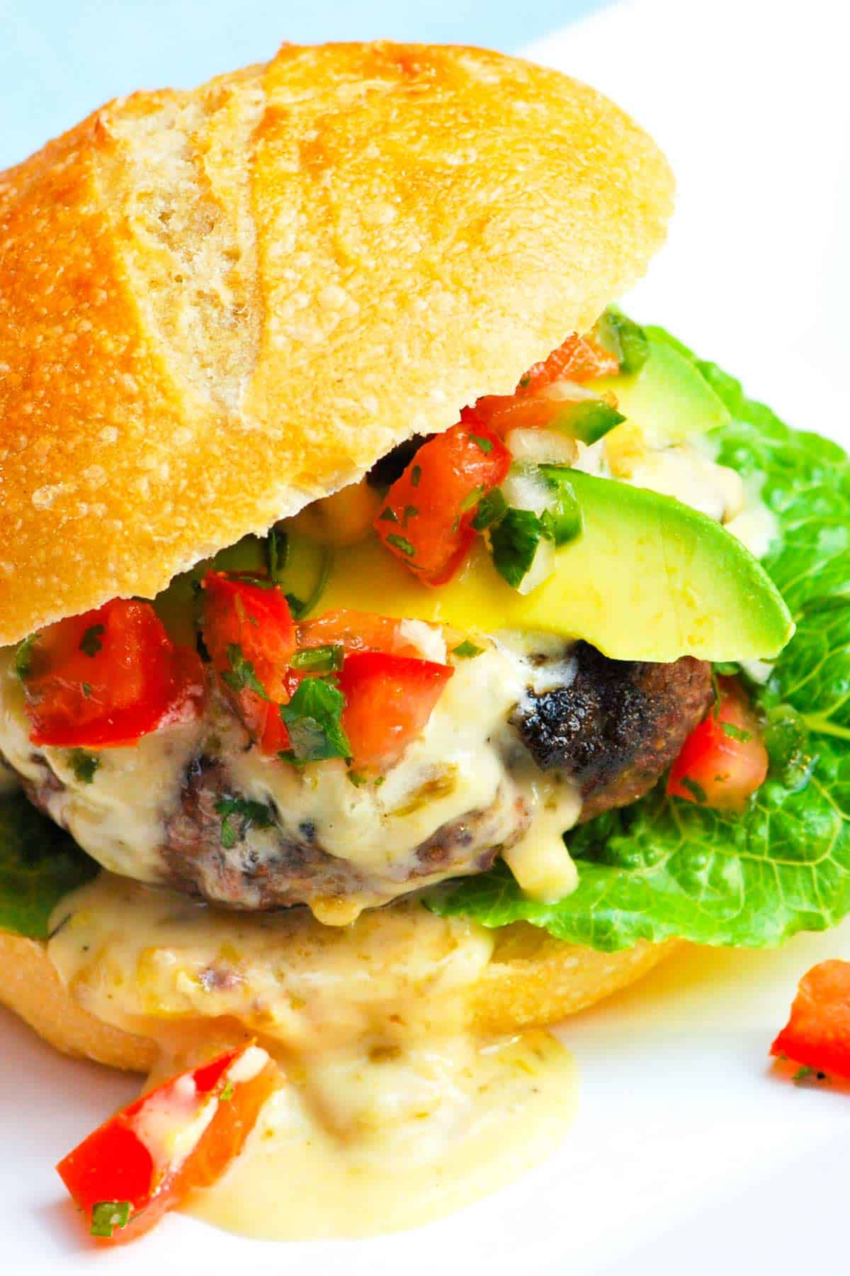 Queso Blanco Burger