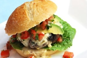 Queso Blanco Burger Recipe