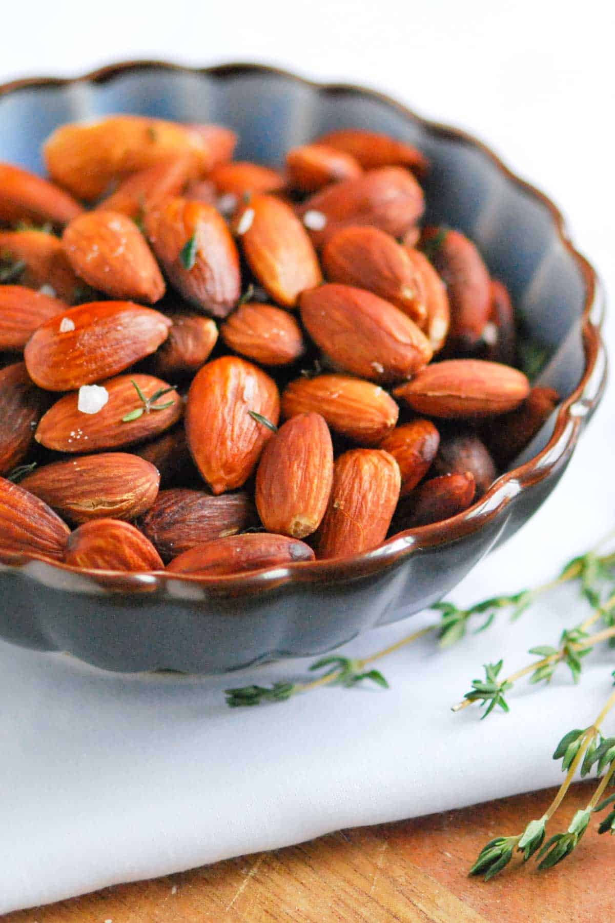 How to Make Salted Roasted Almonds