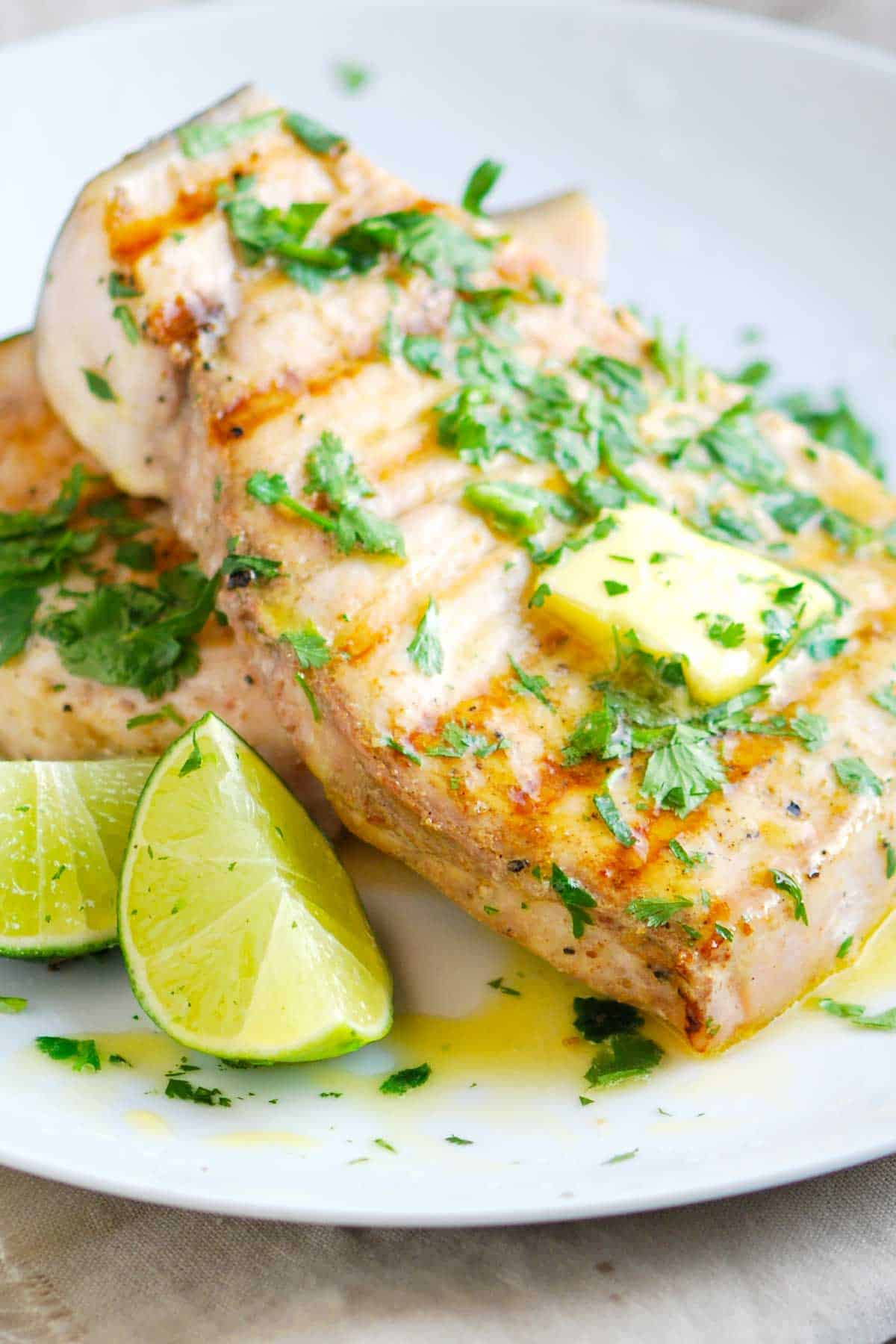 How to Grill Swordfish with Coriander and Lime