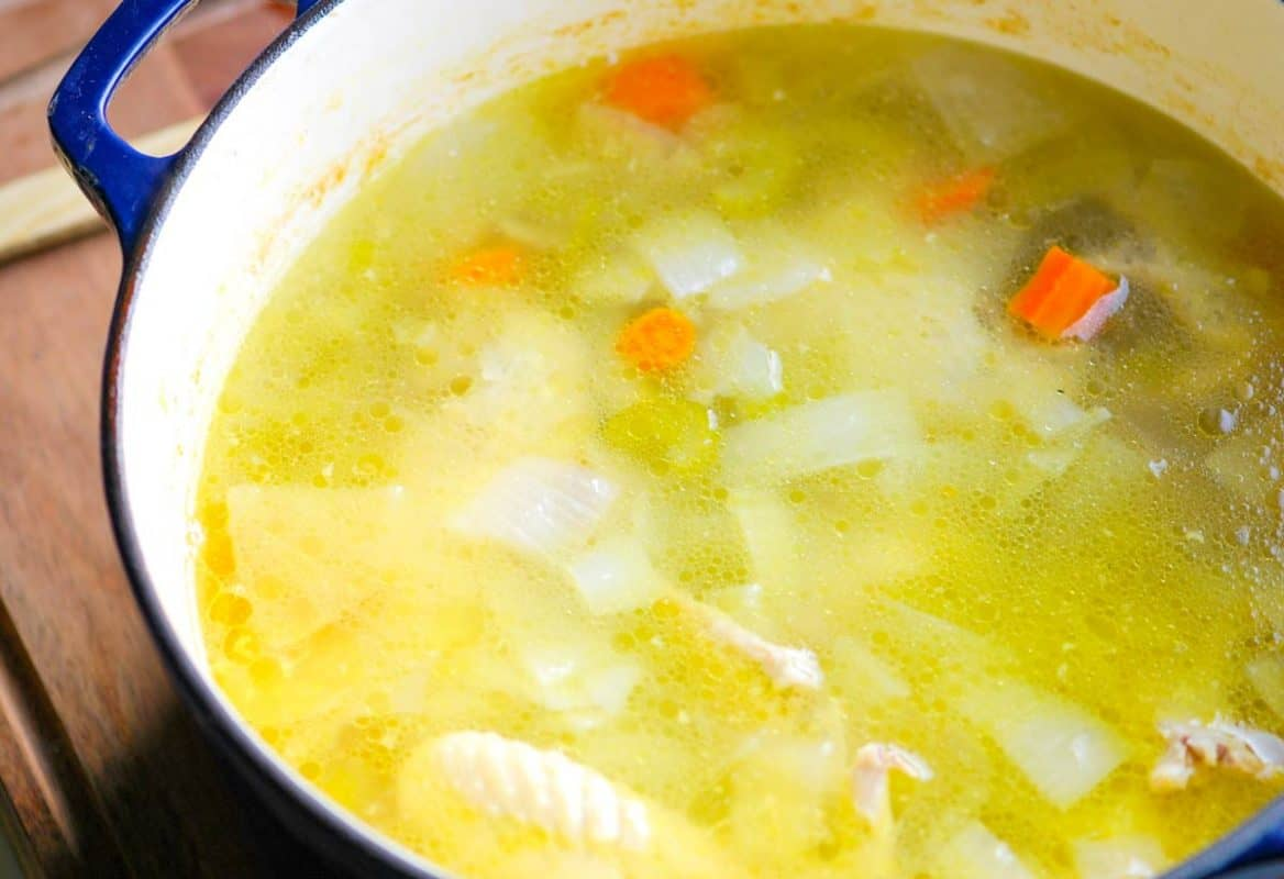 Homemade Chicken Stock That's Better Than Store-Bought
