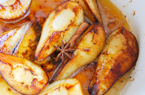Easy Butter Roasted Pears Recipe
