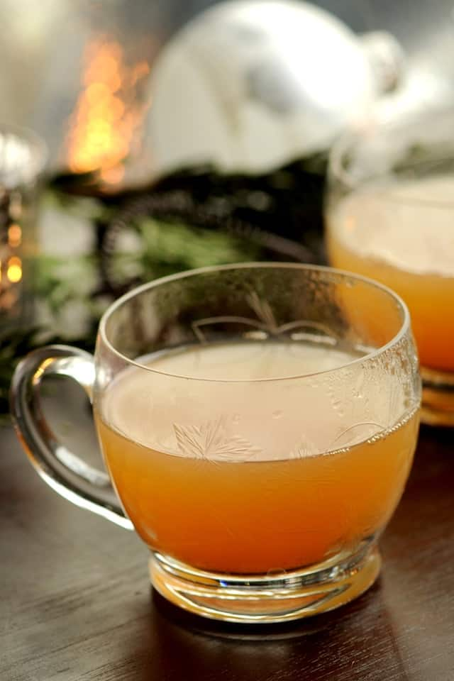 Spiced and Spiked Cider Recipe from www.inspiredtaste.net #recipe # ...