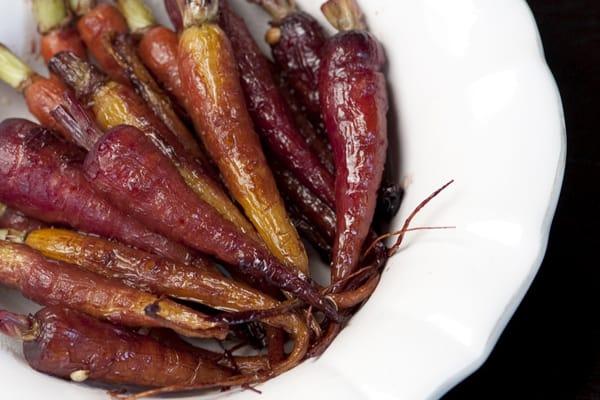 Carrots with Pomegranate Glaze Recipe