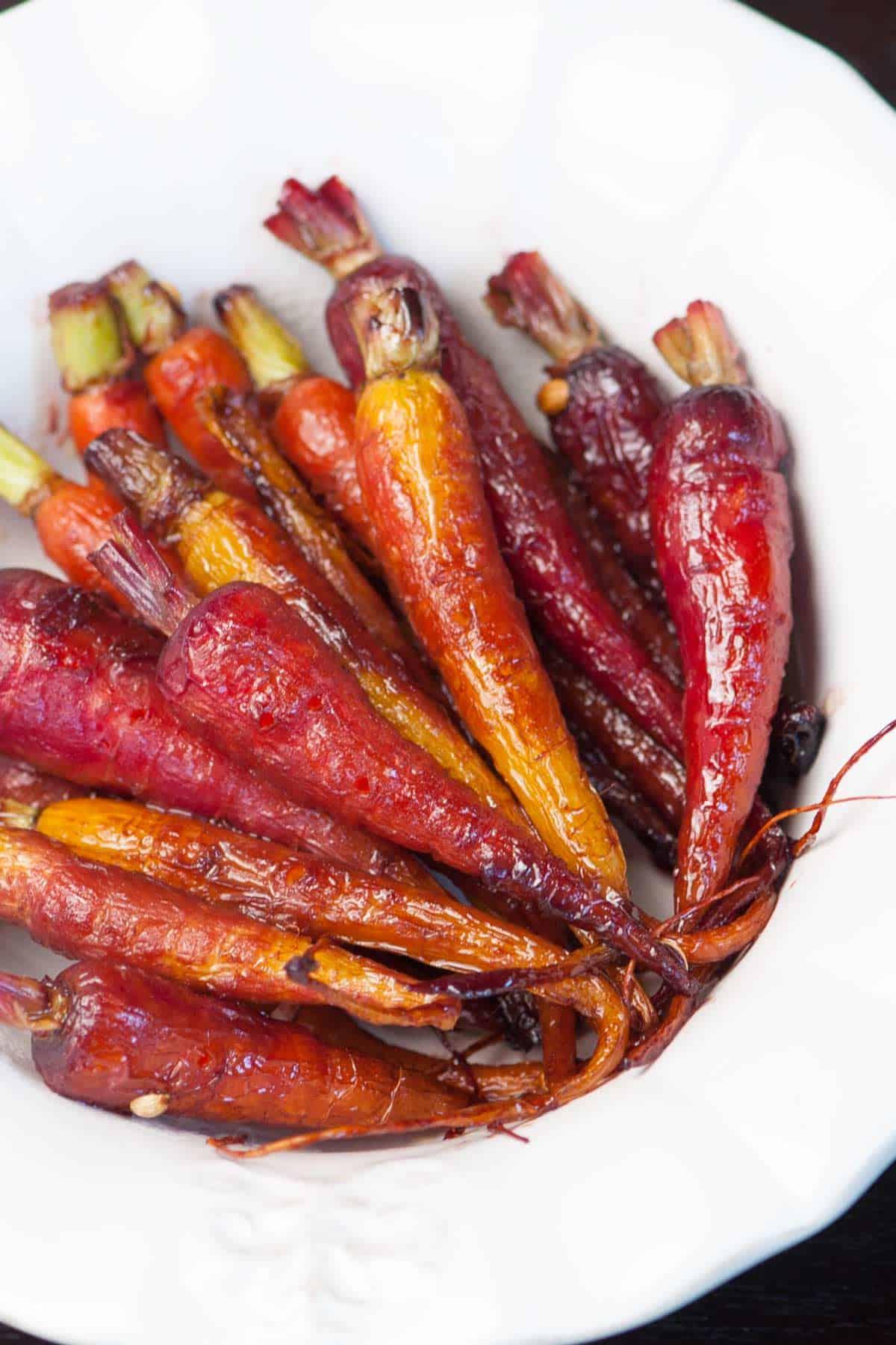 Easy Pomegranate Glazed Carrots Recipe