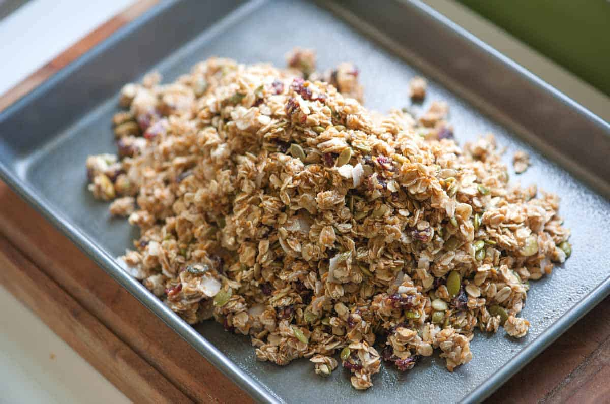 Homemade Baked Granola Bars