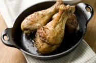 Baked Chicken Drumsticks with Old Bay