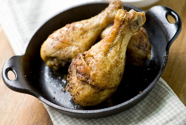 Old Bay Dusted Baked Chicken Drumsticks Recipe
