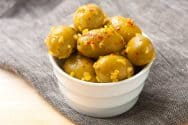 Marinated Olives with Lemon Confit