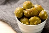 Olives with Lemon Confit and Chili Flakes Recipe