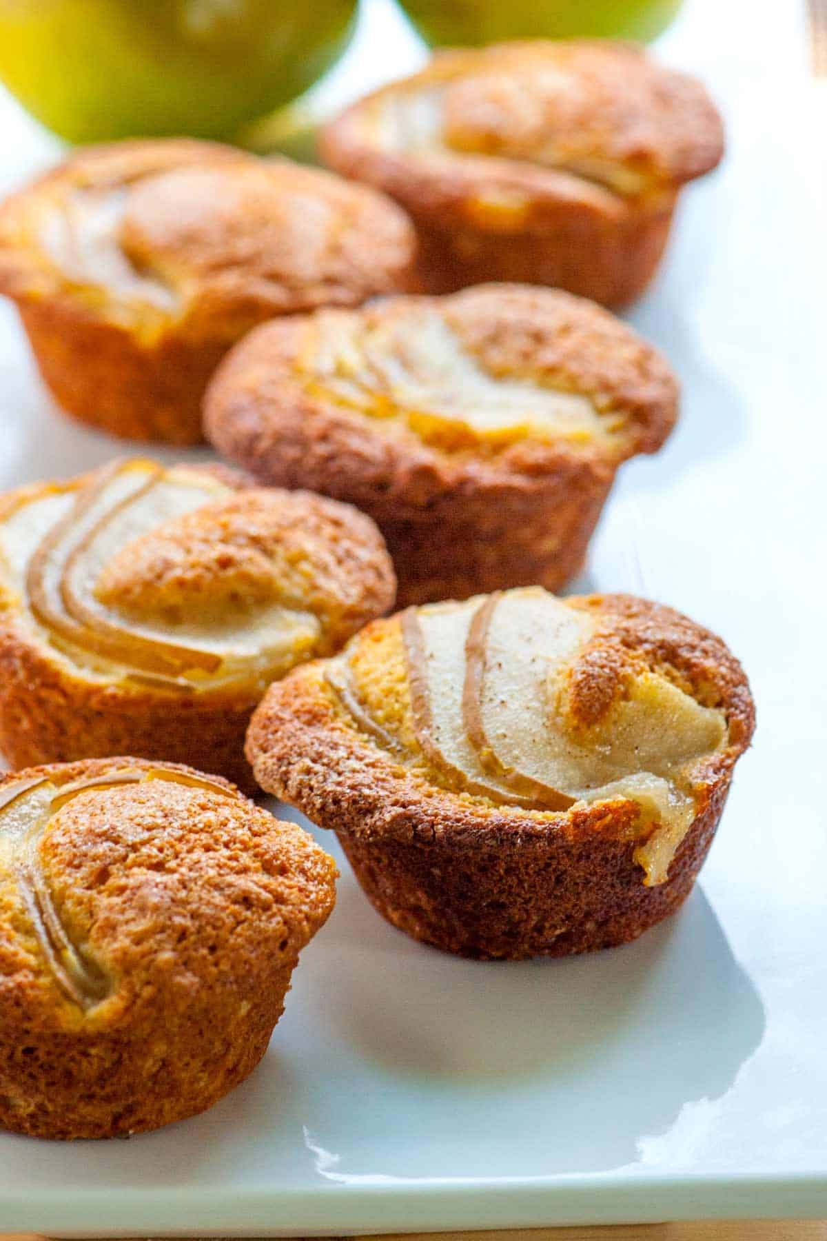 How to Make Muffins with Fresh Pear