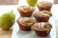 Pear and Vanilla Muffins Recipe