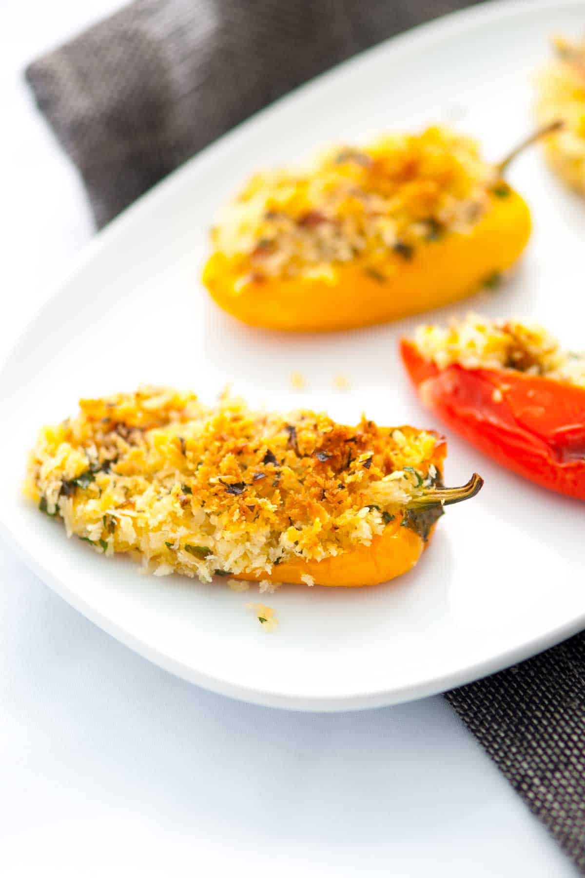 How to Make Oven Baked Stuffed Sweet Peppers with Bacon and Cheese