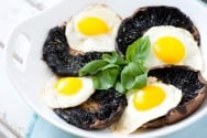 Portobello and Eggs