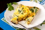 Potato Fritatta with Chipotle Recipe