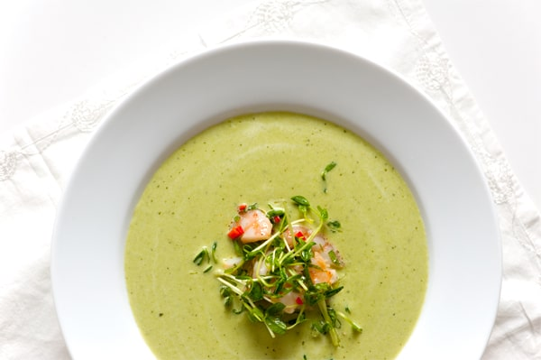 Chilled Pea Soup Recipe