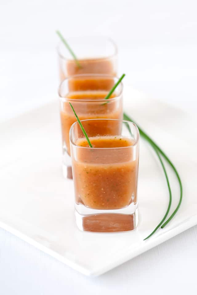 Chilled Tomato Soup: Gazpacho Recipe