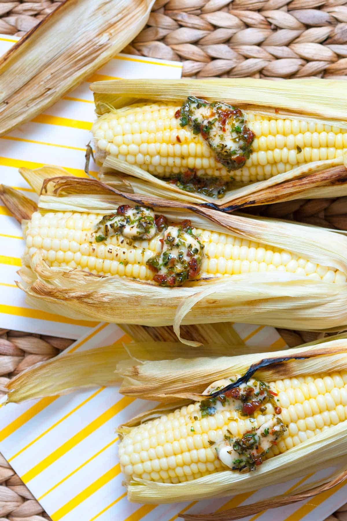 How to Bake Corn in the Oven