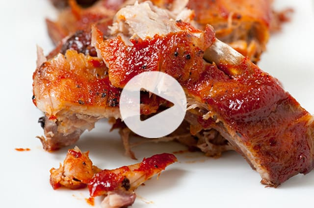 Oven Baked Ribs Video