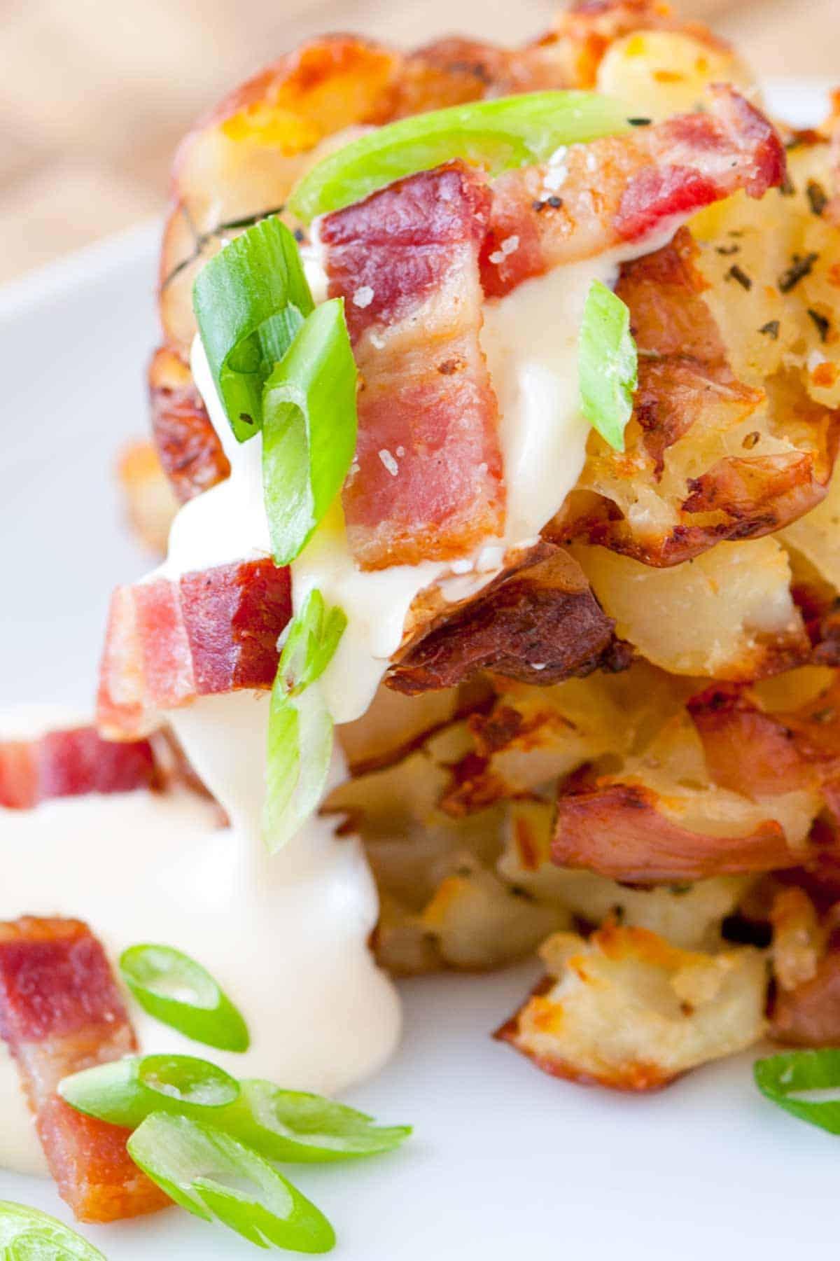 How to Make Bacon Roasted Potatoes