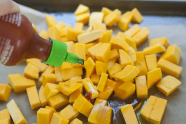 Sweet and Spicy Roasted Butternut Squash Recipe