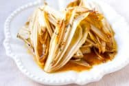 Maple Butter Roasted Endive Recipe