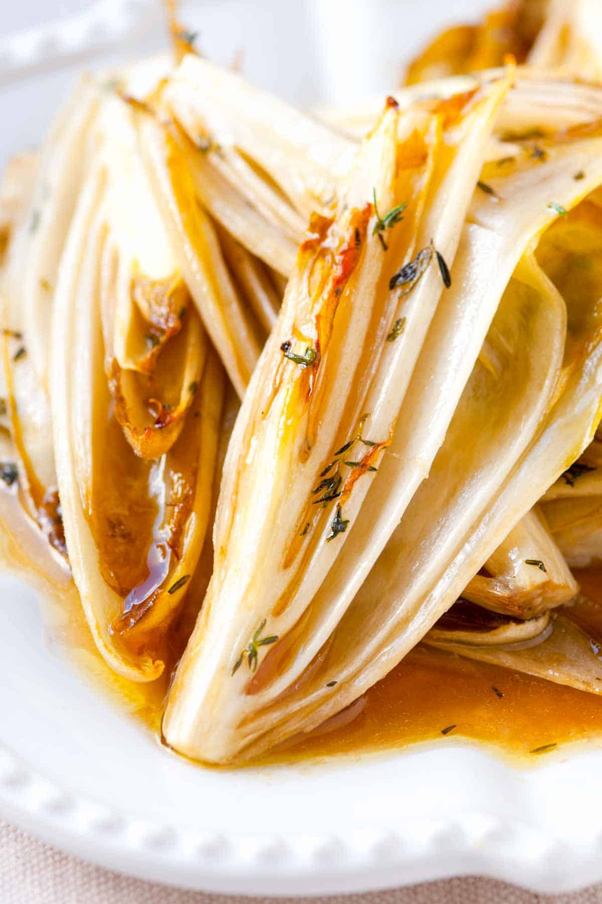 How to Make Maple Roasted Endive