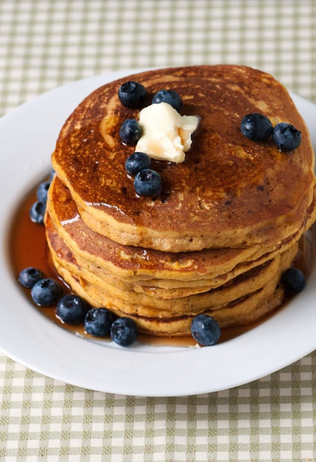 Pancakes - Easy Homemade Pumpkin Pancakes Recipe