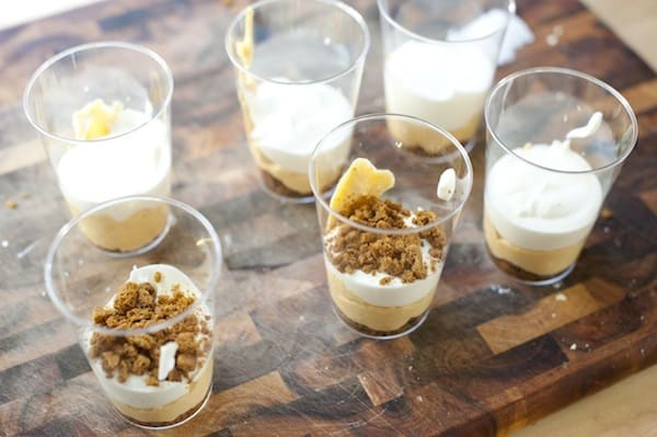 Easy Pumpkin Ginger Mousse Parfait