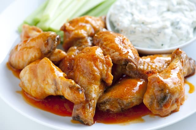Easy Baked Chicken Hot Wings Recipe