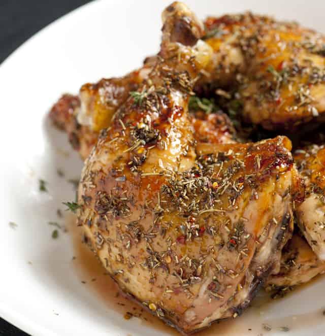 Lavender And Honey Glazed Chicken Recipe — Dishmaps
